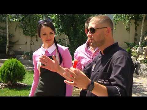 """Михайло і Мар'яна Гардамани  у програмі """"Смачний вікенд"""""""