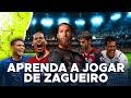 Tutorial de futebol: como jogar de zagueiro? (Dicas do Zico e Fernandão ex-Flamengo)
