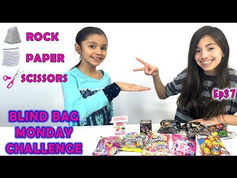 Rock Paper Scissors Challenge | Blind Bag Monday Ep38
