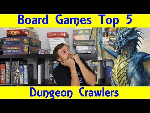 Top 5 Dungeon Crawler Board Games