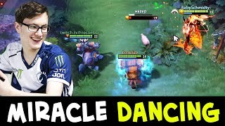 Miracle dancing with enemy — people still HAVE FUN in Dota