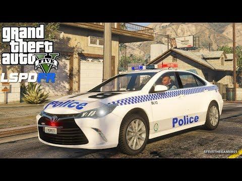 GTA 5 MOD LSPDFR 693 - AUSTRALIA  PATROL!! (GTA 5 REAL LIFE PC MOD)