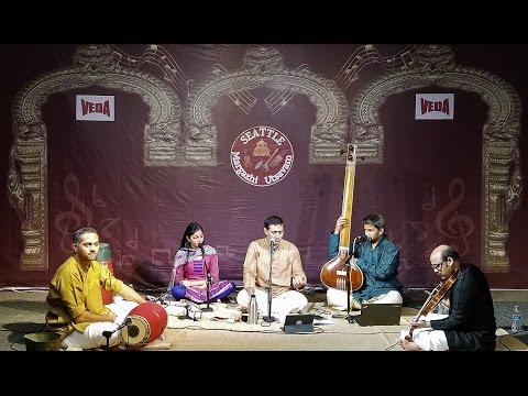 SMU16-24 Seattle Margazhi Utsavam 2016 - Day 24, 07 Jan 2017, Dr. Sanjay Subramanian concert