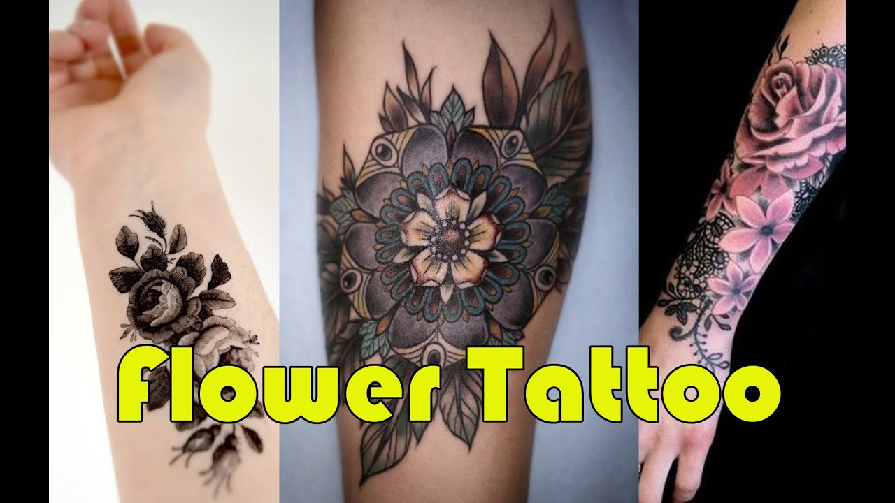 Beautiful Flower Tattoo Designs Youtube