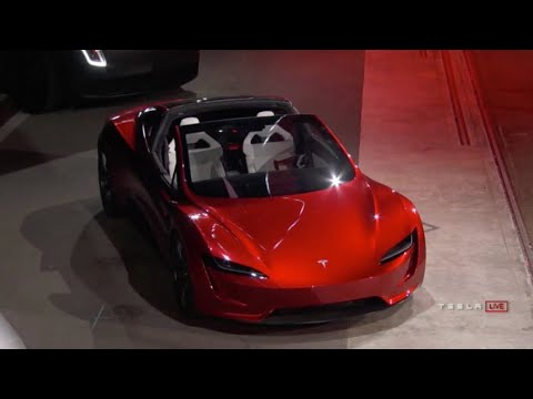 Beautiful 2020 Tesla Roadster 0 75mph Pull Interior And Exterior