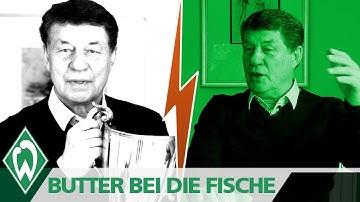 BUTTER BEI DIE FISCHE: Otto Rehhagel | SV Werder Bremen | Europapokal der Pokalsieger '92