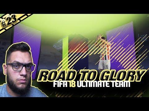 ΠΕΤΥΧΑΜΕ ΠΟΛΥ ΚΑΛΟ PTG!!!!! #FIFA 18 #ROAD TO GLORY #23