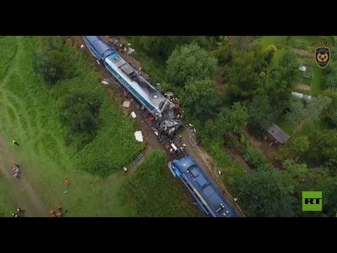 قتلى وجرحى جراء تصادم قطاري ركاب في جمهورية التشيك  - نشر قبل 5 ساعة
