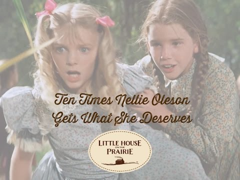 Little House on the Prairie Presents 10 Times Nellie Oleson Gets What She Deserves