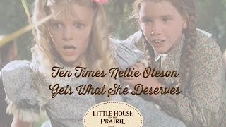 Video Little House on the Prairie Presents 10 Times Nellie Oleson Gets What She Deserves download MP3, 3GP, MP4, WEBM, AVI, FLV November 2018