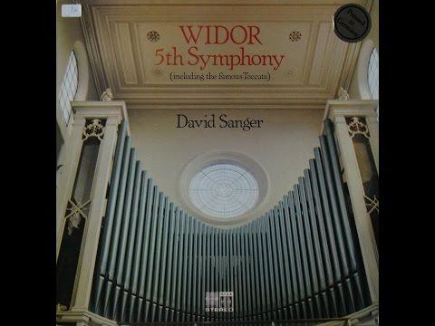 Widor 5th Symphony, David Sanger (kant 1)