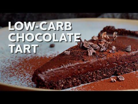 1-Min Recipe • Low-carb chocolate tart