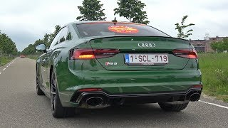2018 Audi RS5 Coupe - Start up, Revs & Accelerations!