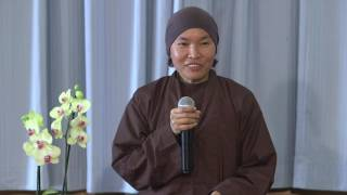 Right Speech - Sister Tuệ Nghiêm - Winter Retreat - 2016.12.01