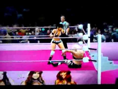 WWE'13 Universe Mode Ashley McCarthy vs. Beth