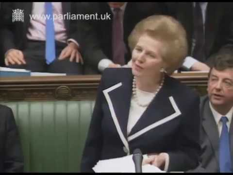 Margaret Thatcher's last