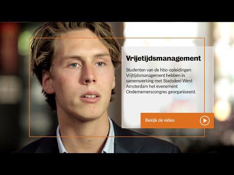 Inholland hbo Leisure Management - In de praktijk bij Stadsdeel West Amsterdam