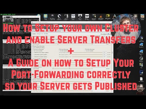 Ark Server Manager Tutorial Follow Up - Creating Cluster Servers + Port Forwarding Guide