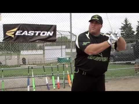 2015 Easton Mako Slo-Pitch Bat Tested By Brett Helmer & Travis Clark   Source For Sports
