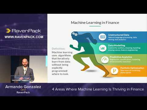 4 Areas Where Machine Learning is Thriving  in Finance