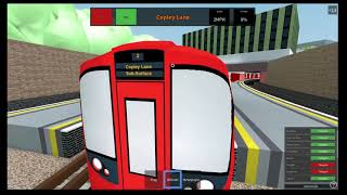 LONDON UNDERGROUND 2010 S STOCK TRAIN REVIEW | Mind the gap classic Roblox