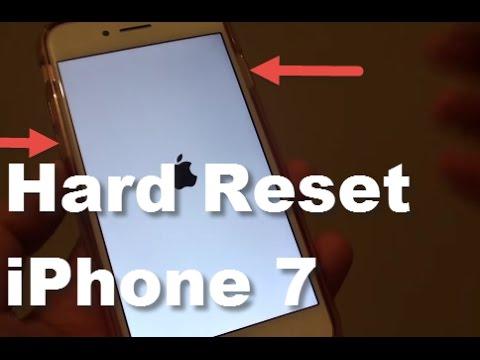 iPhone 7: How to Hard Reset / Reboot