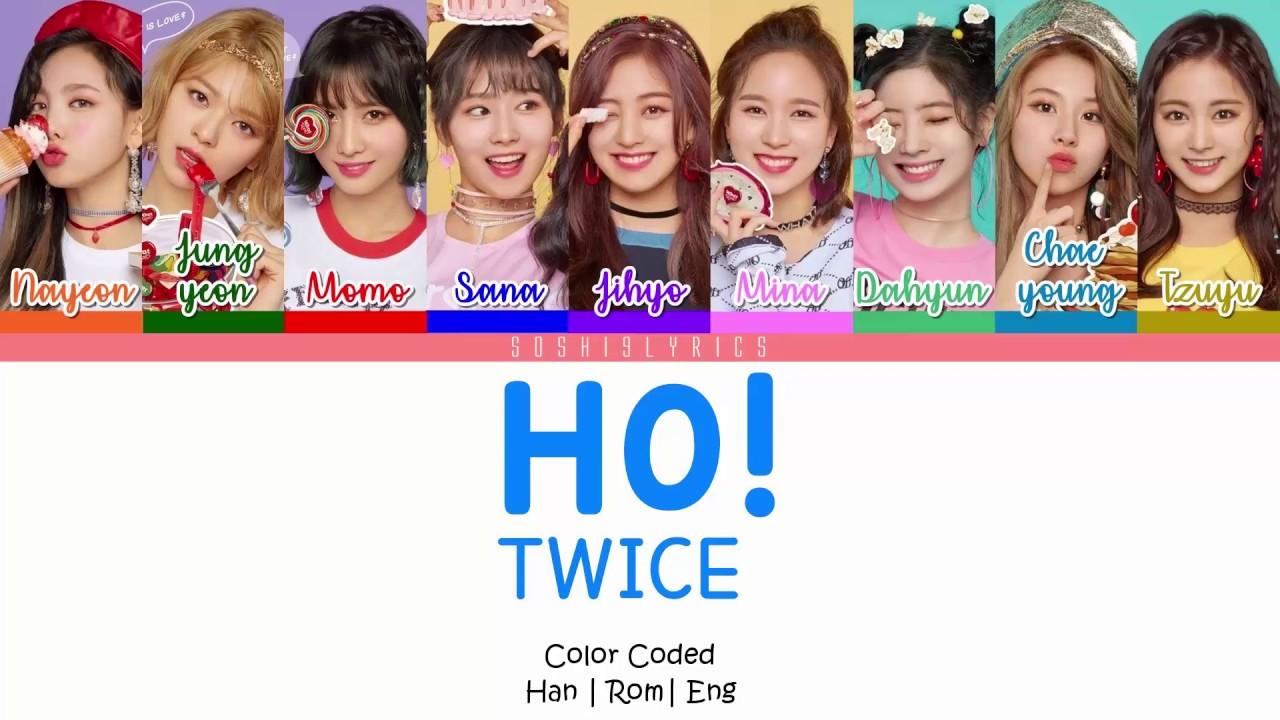 TWICE –  Ho