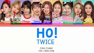 Download lagu TWICE HO Lyrics MP3