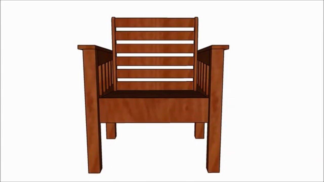 Morris chair plans - Morris Chair Plans
