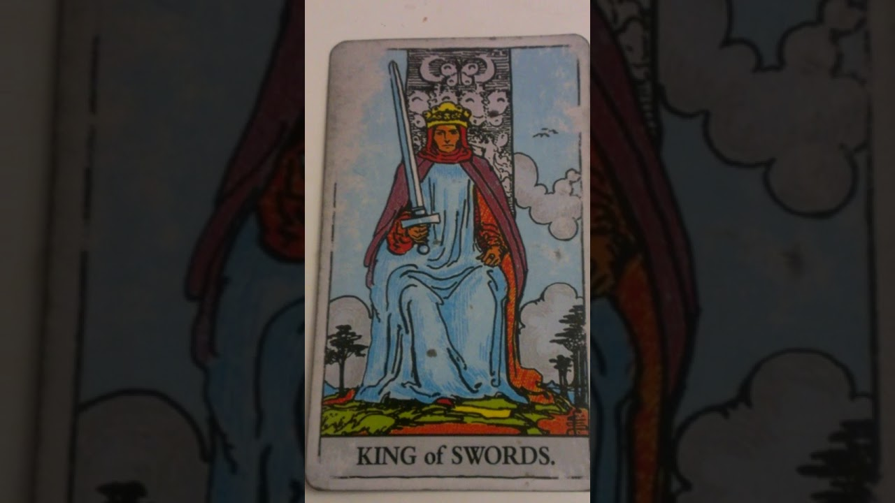 The King Of Swords As Feelings In A Love Reading