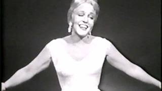 "Peggy Lee's take on the 1953 Cole Porter classic, sometimes spelled ""It's Alright With Me"" or, ala Senor Wences, ""S'allright With Me."" Is difficult? Not for Peggy..."