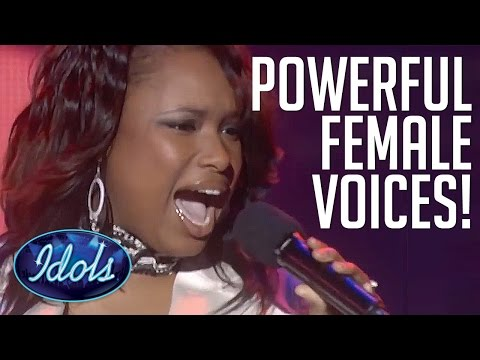MOST POWERFUL Female Singing Voices On American Idol | Idols Global