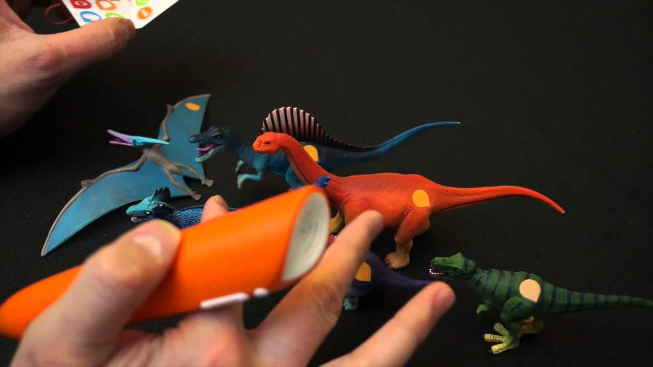tiptoi dinosaurier klein trex triceratops etc  youtube