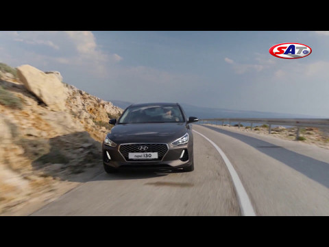 HYUNDAI I30 Road test by SAT TV Show 30.04.2017.