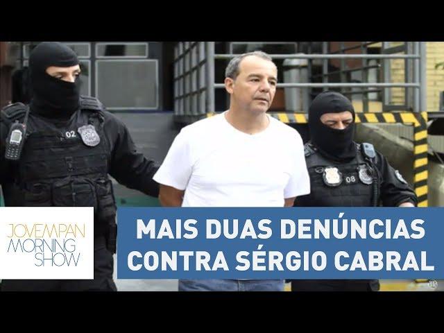 MPF oferece mais duas denúncias contra ex-governador Sérgio Cabral | Morning Show