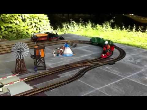Train playmobil western 1855 v1 youtube - Train playmobil ...