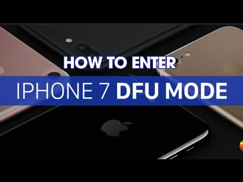iPhone 7 - 7 Plus: how to Force Restart, enter Recovery, and DFU mode