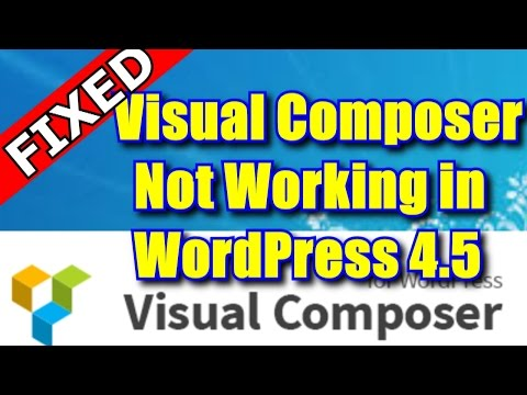 Visual composer page builder for wordpress 4.4.2