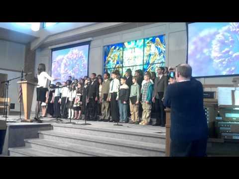 Maaes 5th -8th Choir at Hagerstown SDA Church