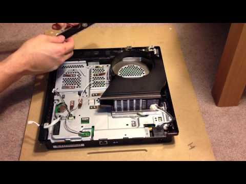 PlayStation 3 Slim Reassembly