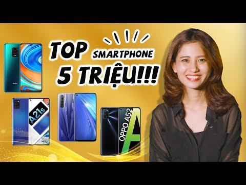 ĐÂU LÀ TOP SMARTPHONE 5 TRIỆU ĐÁNG MUA NHẤT 2020?