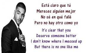 Maluma - El Perdedor Lyrics English and Spanish - Translation & Meaning - The loser