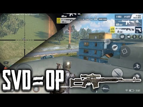 SVD IS OP!   Rules Of Survival IOS Gameplay/Analysis