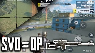 SVD IS OP! | Rules Of Survival IOS Gameplay/Analysis