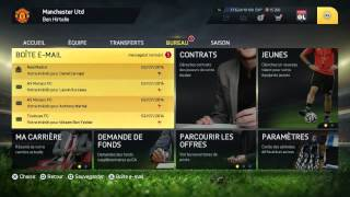 FIFA 15 - Carrière Manager - Manchester United - Transferts ! #1