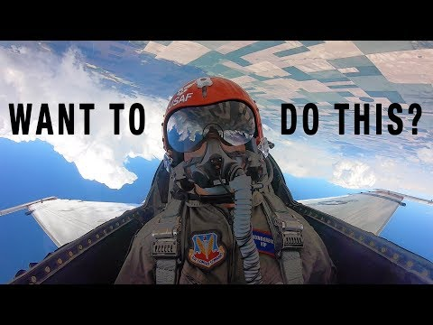 How You Can Become An Air Force Pilot + Flying With The Thunderbirds