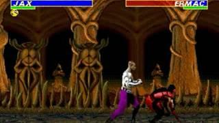Ultimate Mortal Kombat 3 (Genesis) - Longplay as Jax