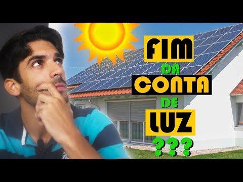FIM DA CONTA DE LUZ/ ENERGIA SOLAR NA SUA CASA??? / Ralph Dias