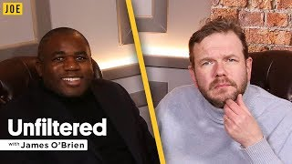 David Lammy interview on Brexit, Grenfell & politics | Unfiltered with James O'Brien #21