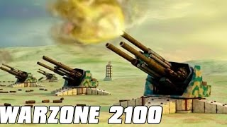 Warzone 2100 Gameplay - Free for All Madness